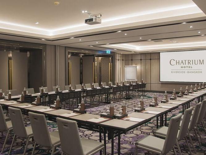 Meeting layout of Chatrium Ballroom at Chatrium Hotel Riverside