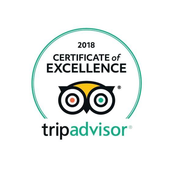 Maitria Hotels & Residences TripAdvisor Certificate