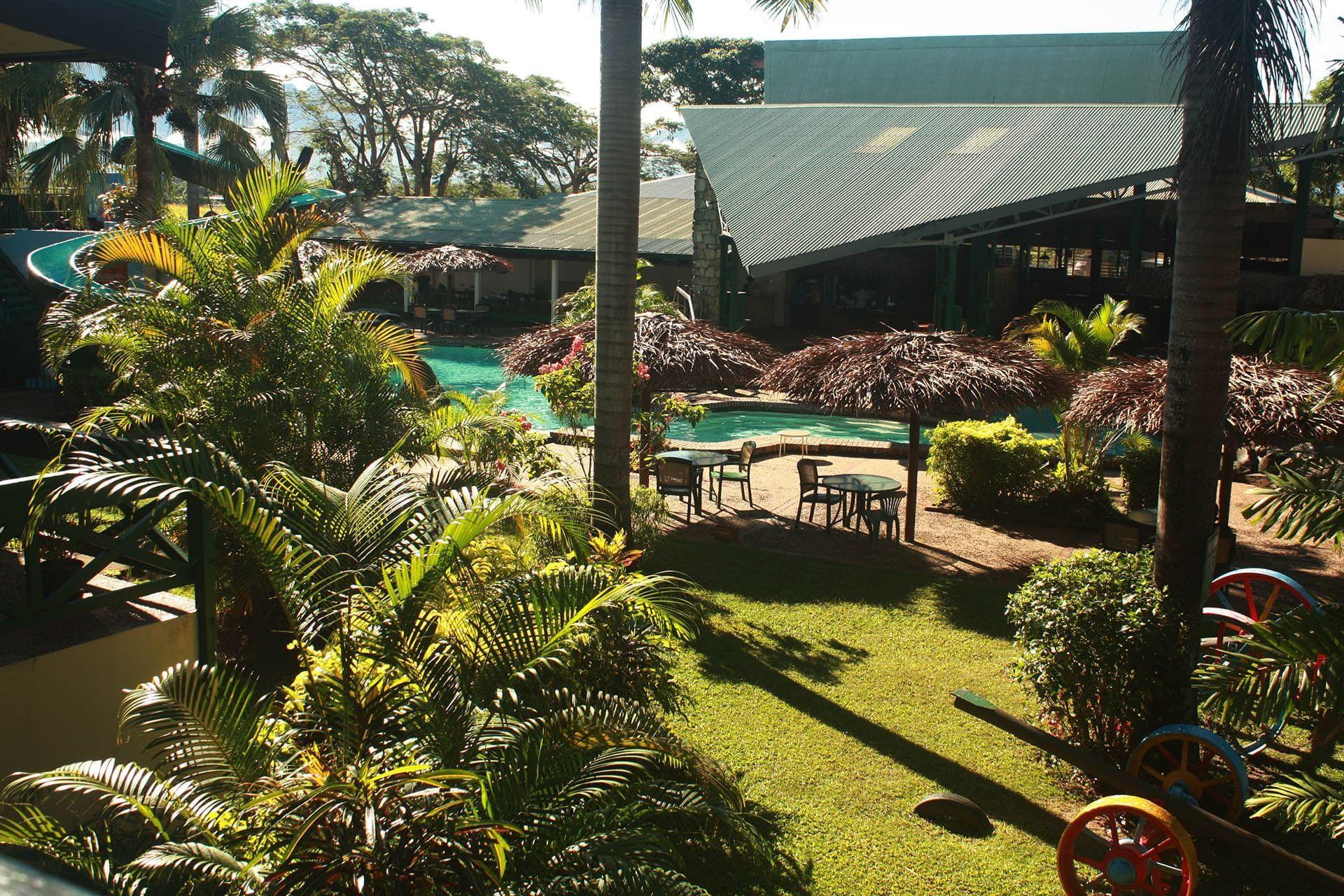 Tokatoka Resort Outside Overlooking Pool