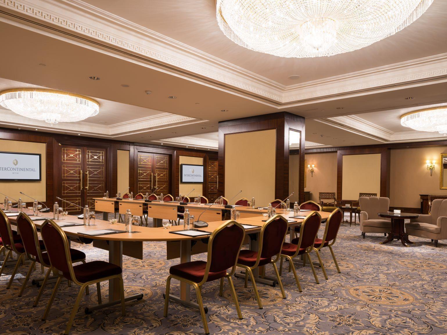 Zoloti Vorota  Conference hall at Intercontinental Kyiv hotel