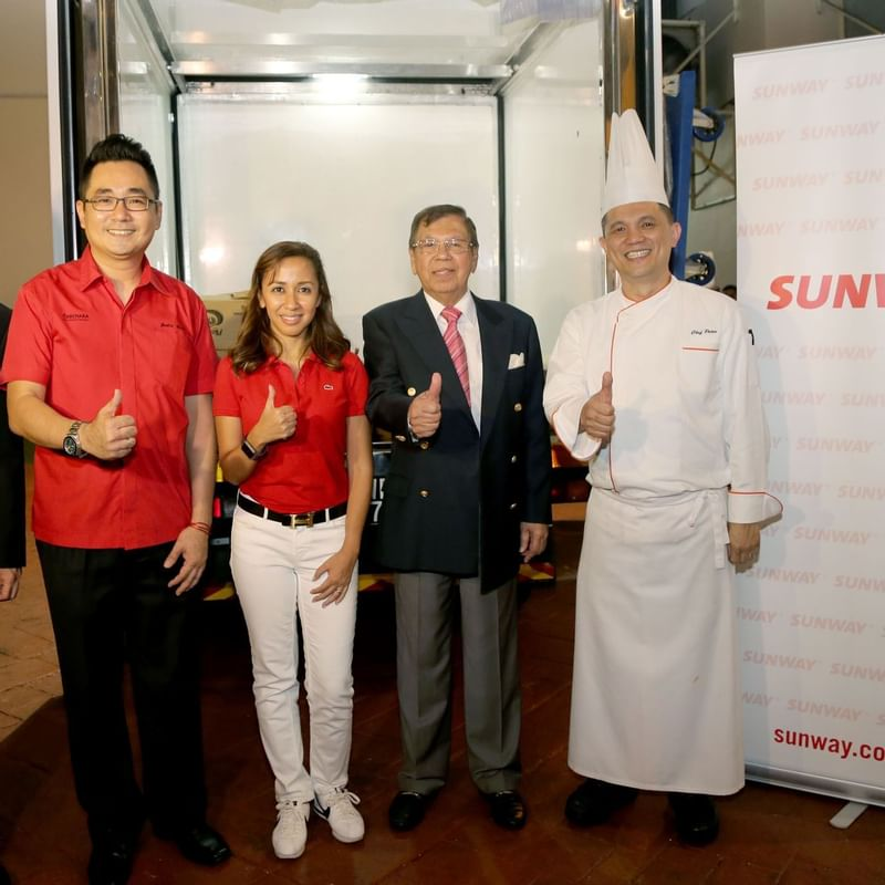 Surplus food — Zero Food Wastage at Sunway Resort Hotel & Spa