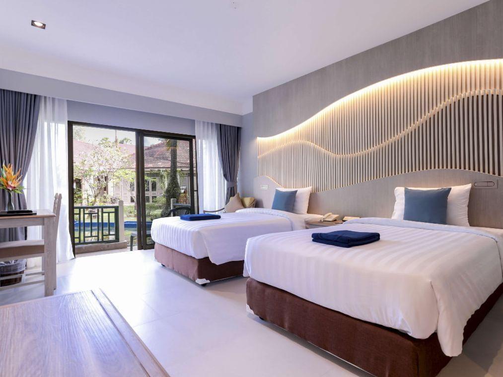 Superior Garden View Room at Amora Hotel