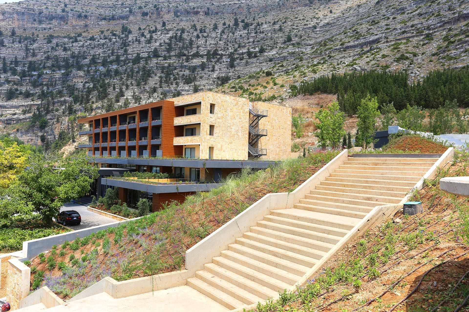 Mist Hotel and Spa Exterior