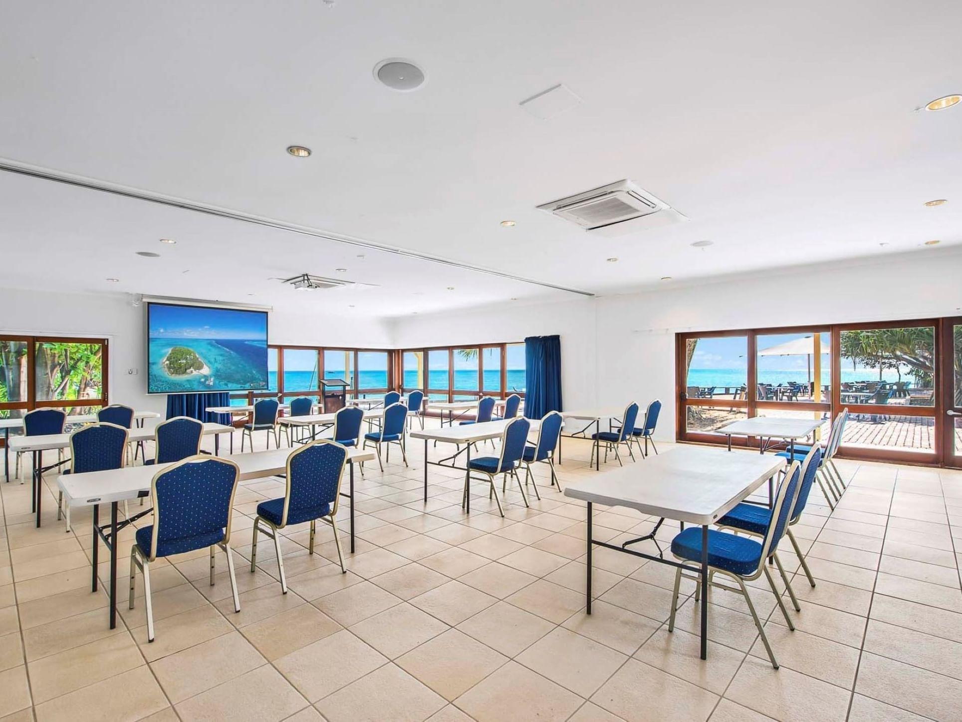 Wistari Room at Heron Island Resort in Queensland, Australia