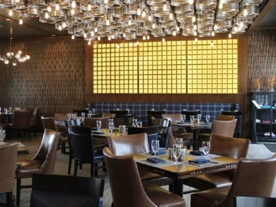 Brew Pub dining room