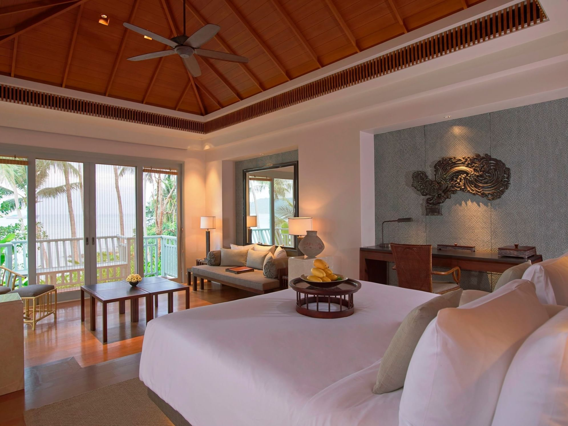 Amatara Wellness Resort - Bay View Pool Villa bedroom