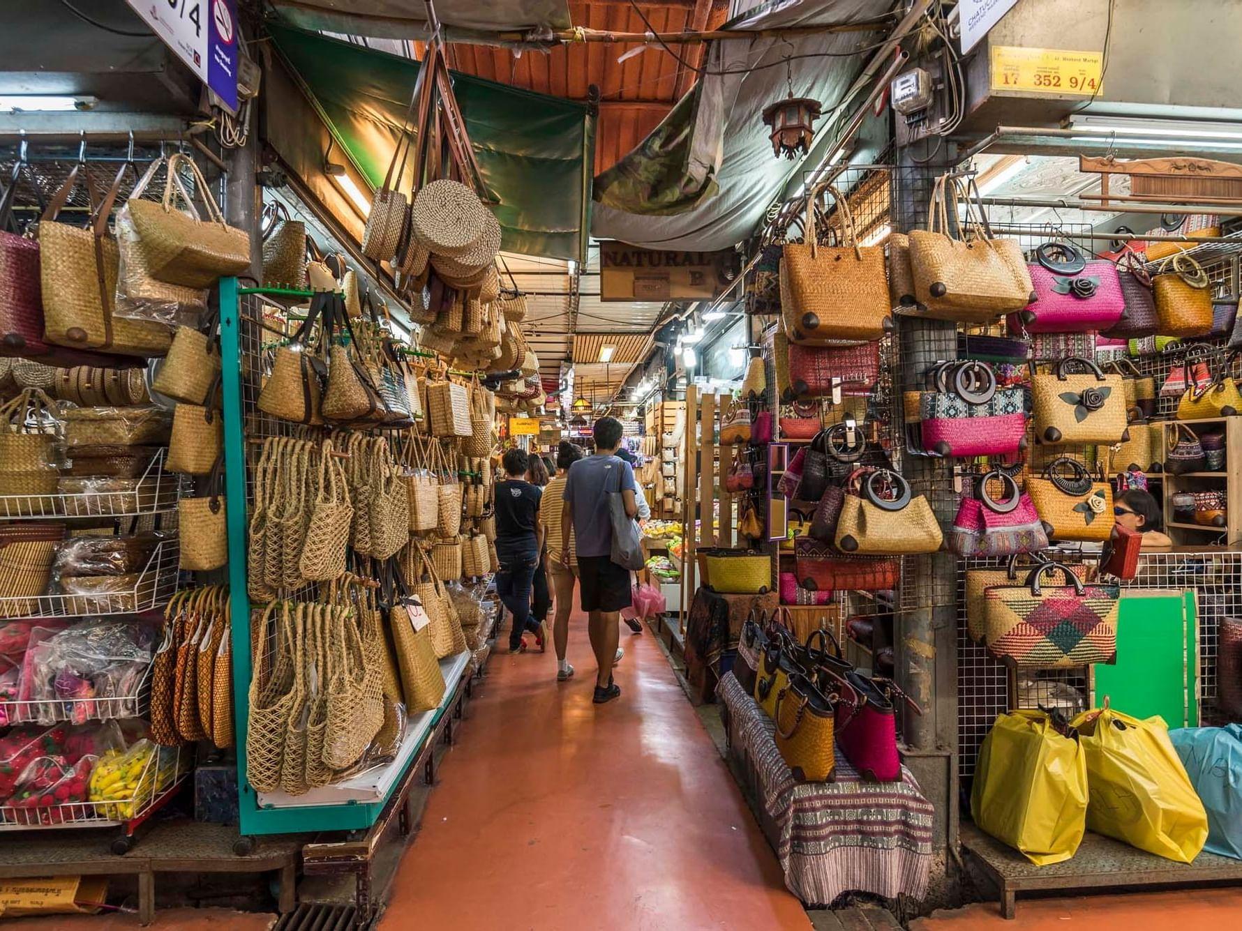 Chatuchak Weekend Market near Chatrium Hotel Riverside Bangkok