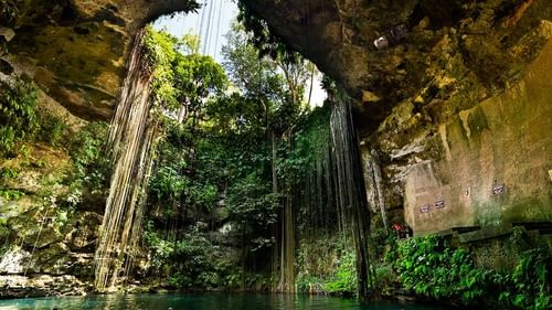 Cenote Dos Ojos' two freshwater caves near The Reef Resorts
