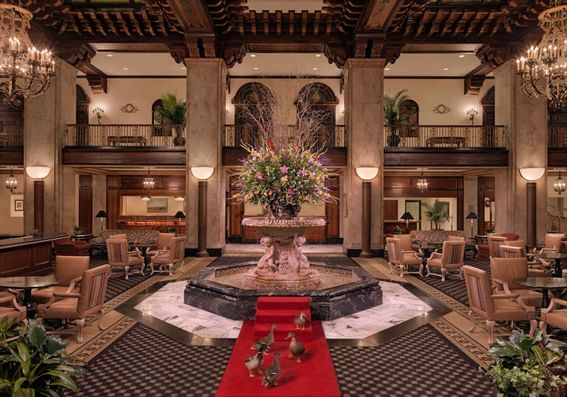 The Dining area at Peabody Hotels & Resorts