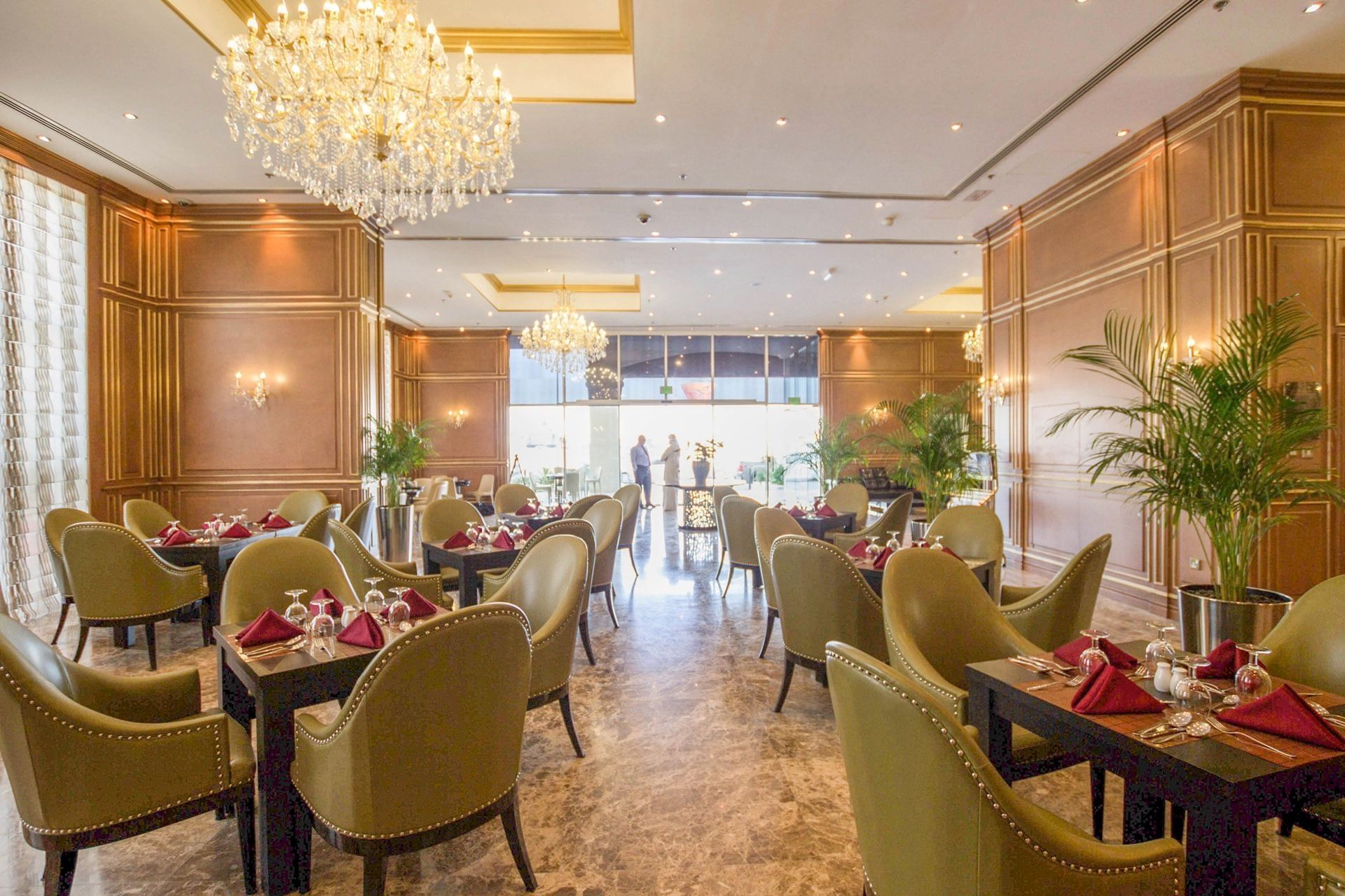 Dining at Strato Hotel by Warwick