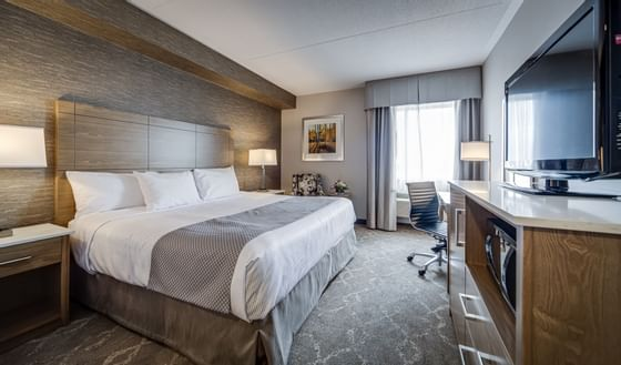 King Studio Suite with Sofa Bed at Monte Carlo Inn Vaughan Suite