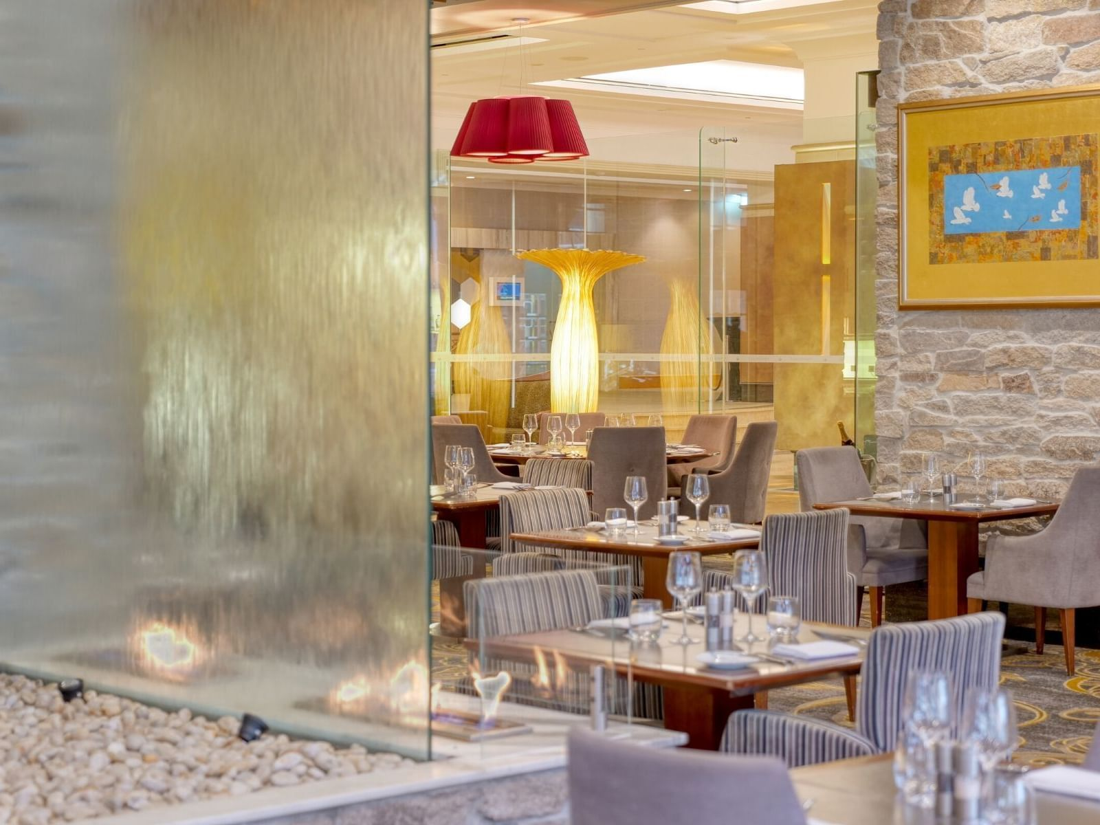 Stylish view of Firewater Grille at Duxton Hotel Perth