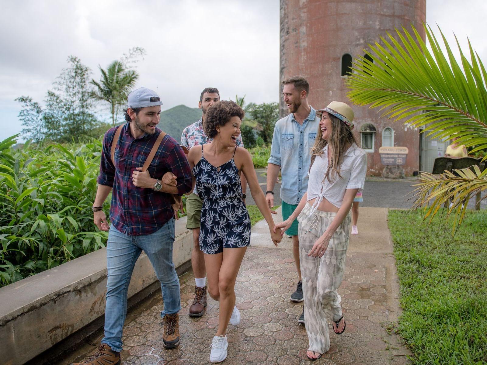 Friends Exploring Puerto Rico