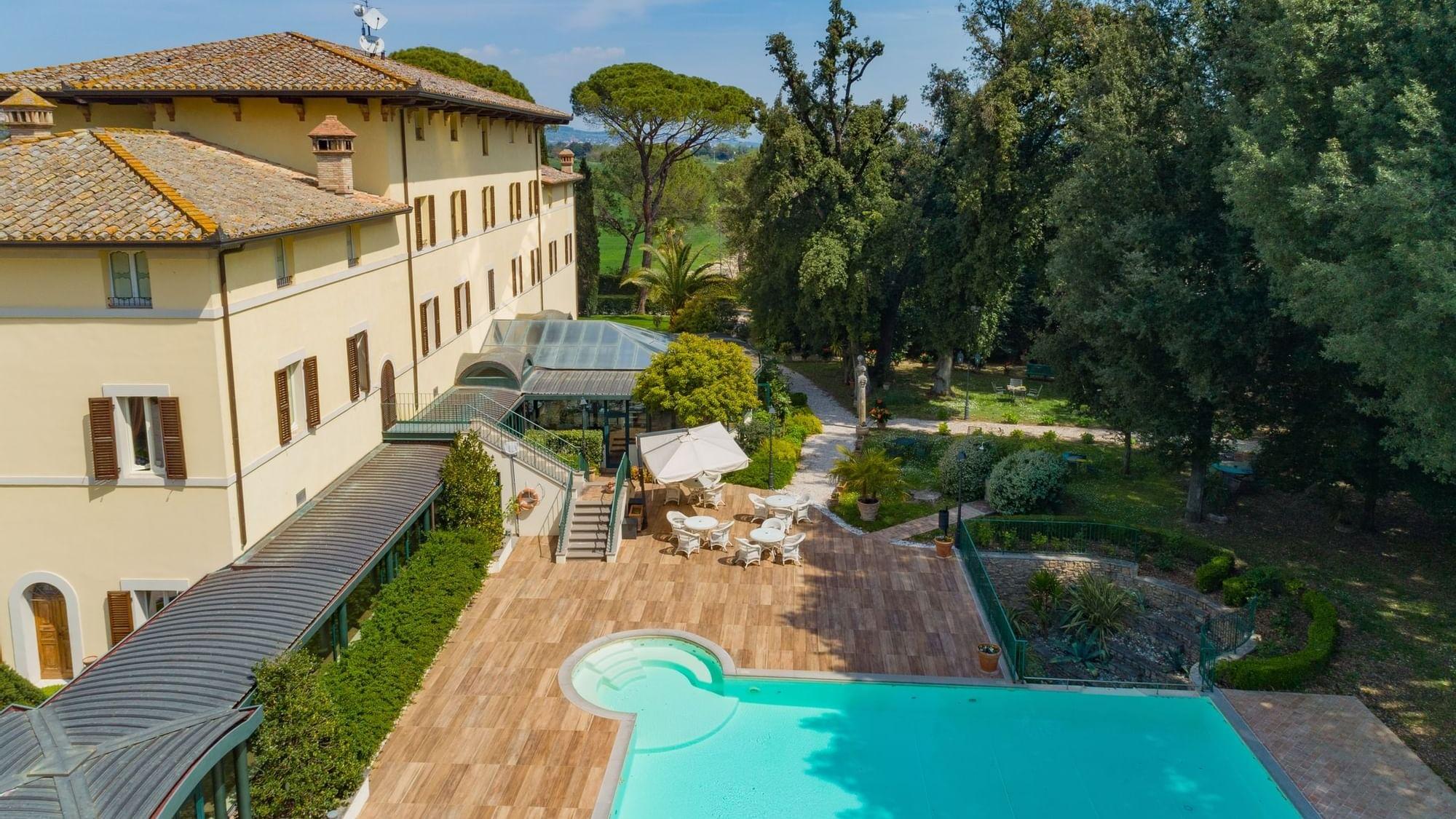 Villa storica con piscina a Perugia, in Umbria