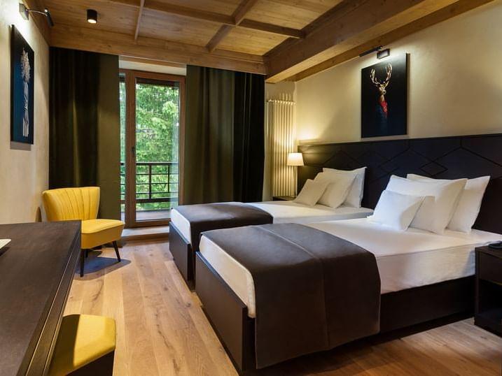Twin Room la Ana Hotels Bradul Poiana Brașov