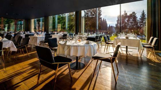 The Altitude Restaurant at Ana Hotels Sport Poiana Brașov