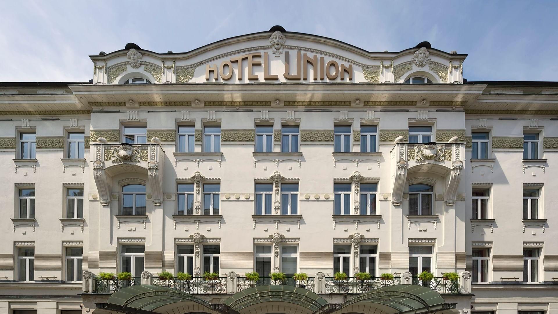 Exterior Grand hotel Union