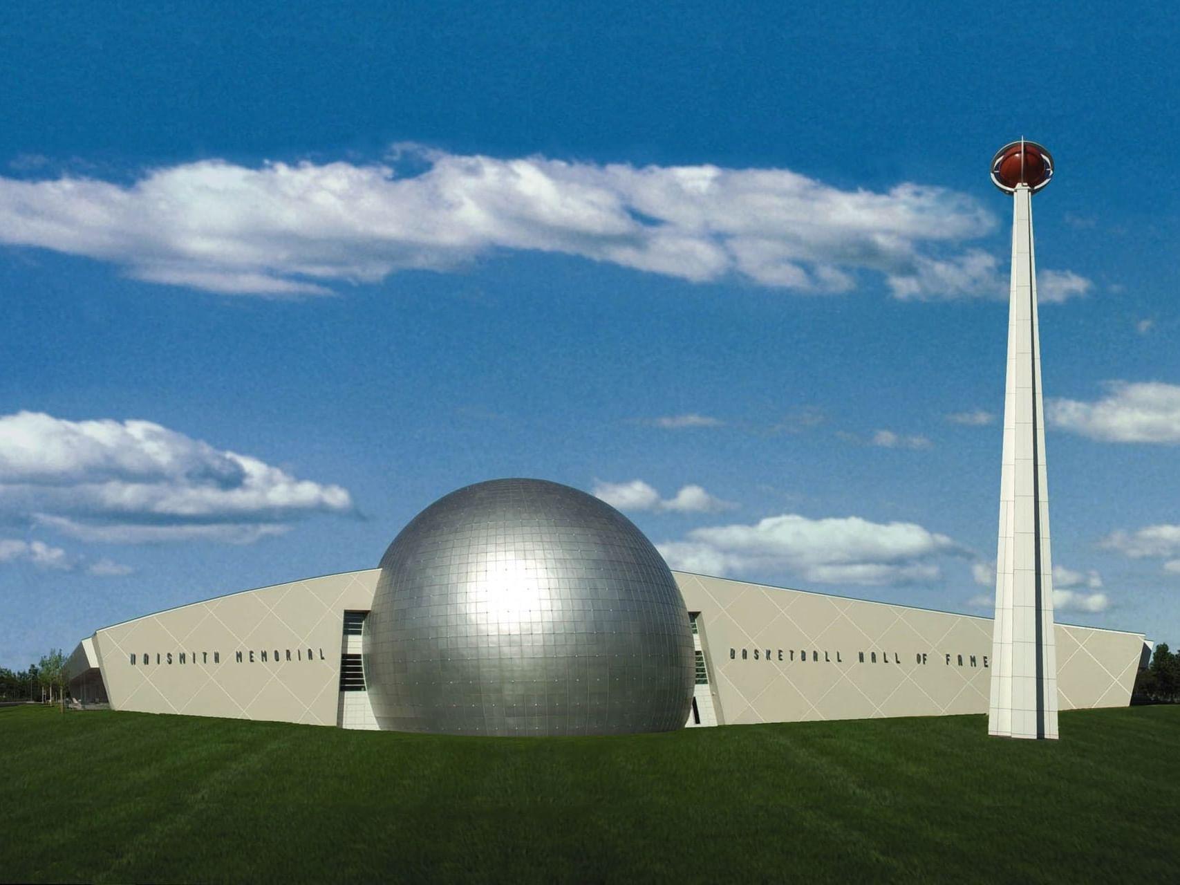 Naismith Memorial Basketball Hall of Fame near Farmington Inn and Suites