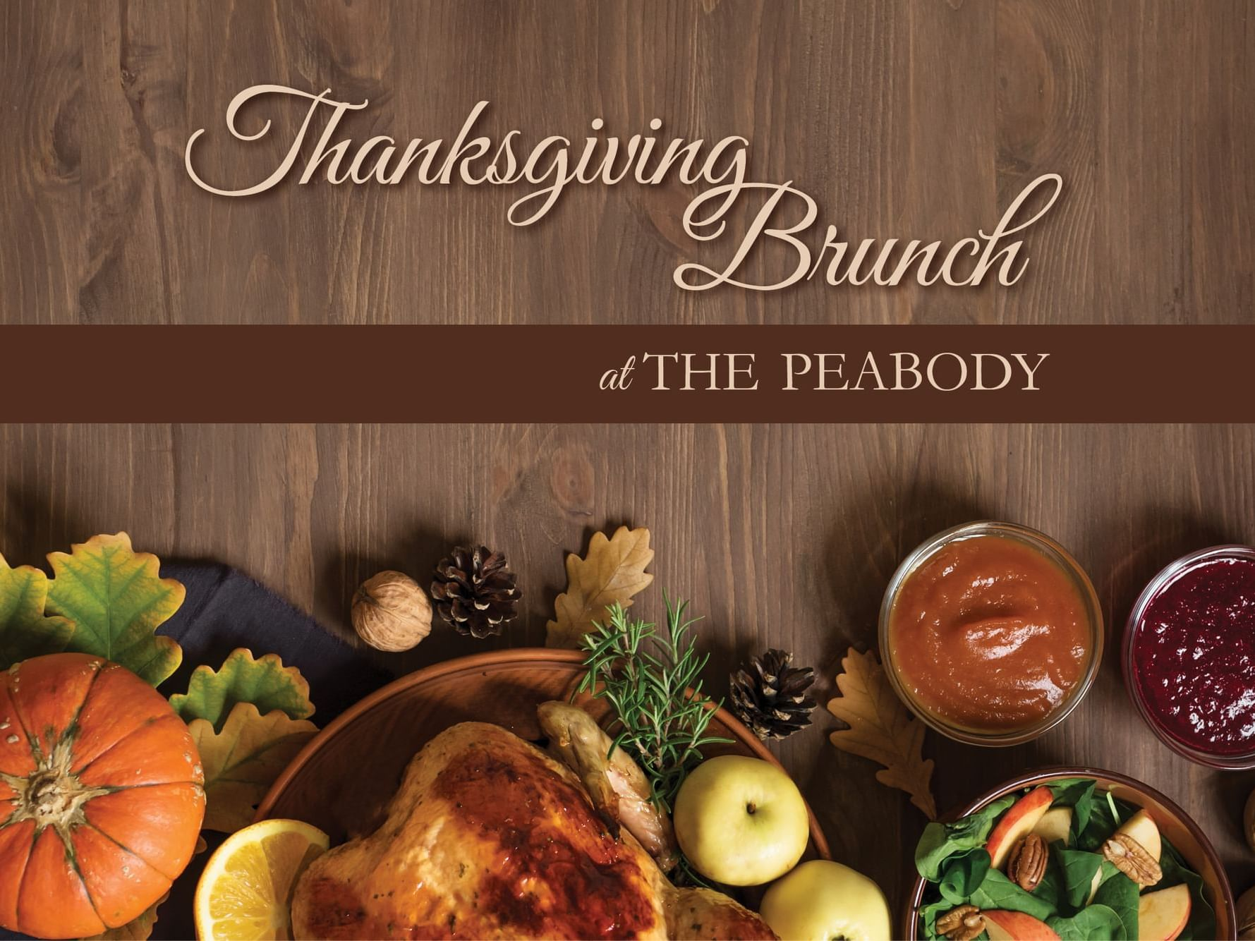 Thanksgiving Brunch at The Peabody 2021
