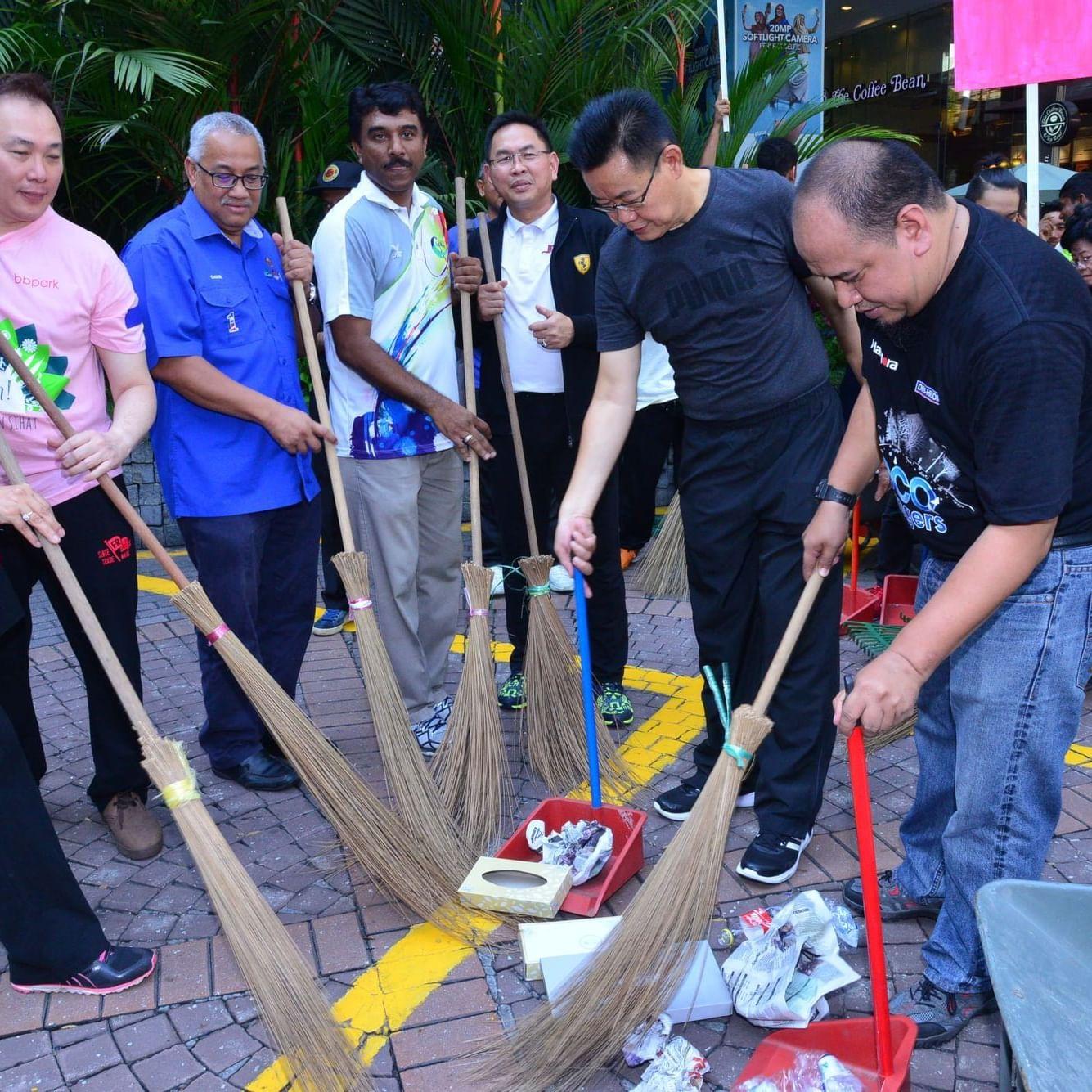 Bukit Bintang Central Gotong Royong Jom Bersih Bukit Bintang 12