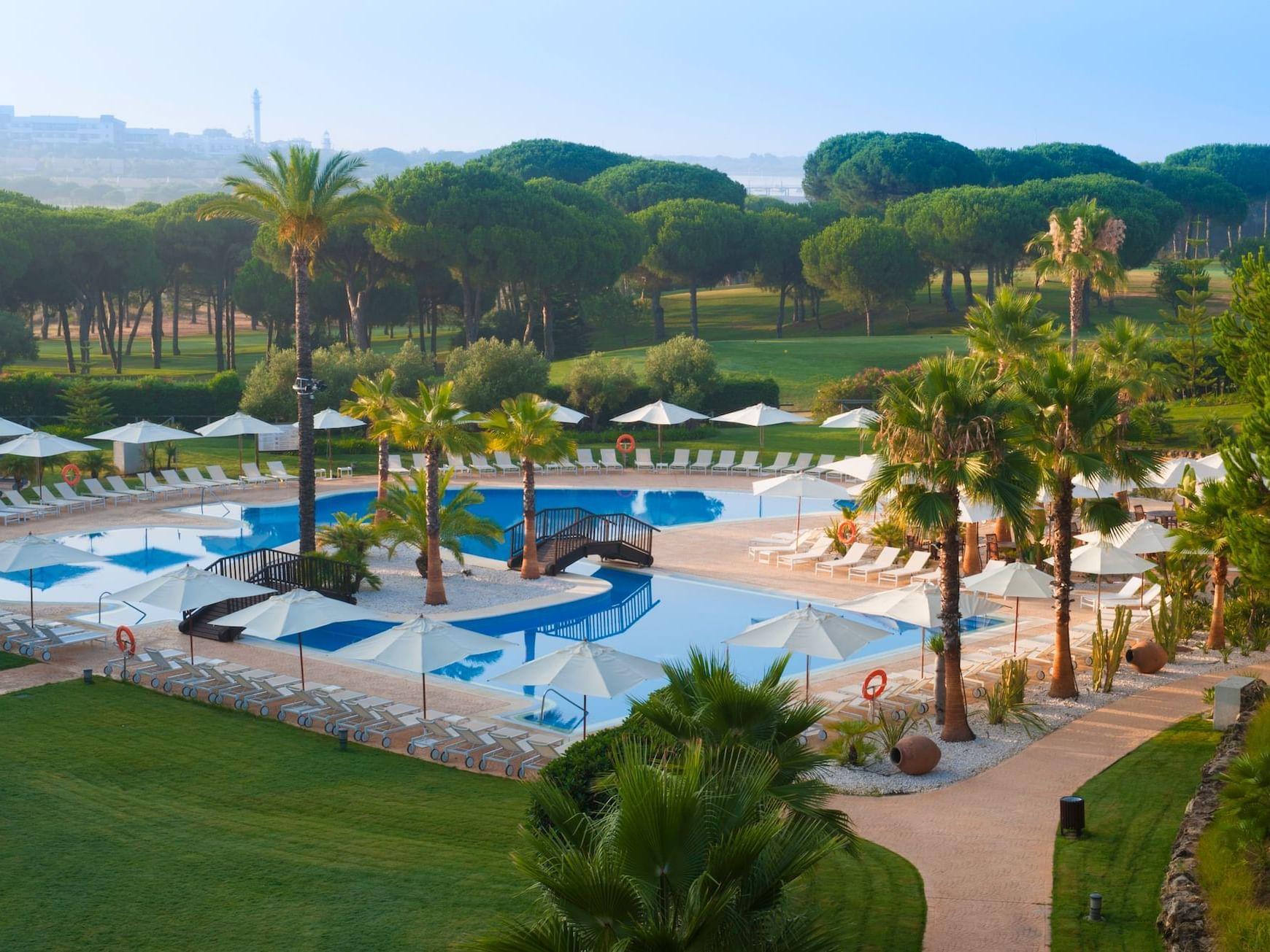 swimming pool at Precise Resort El Rompido