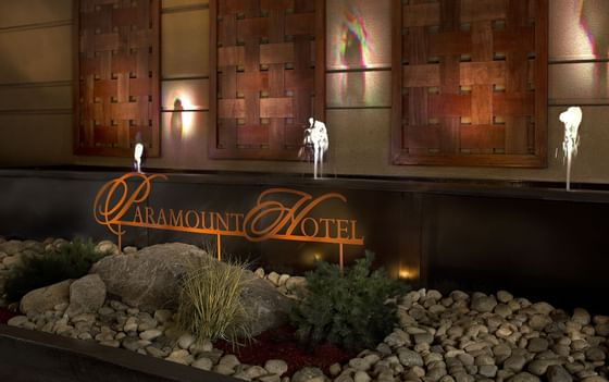 Paramount Hotel Seattle Sign