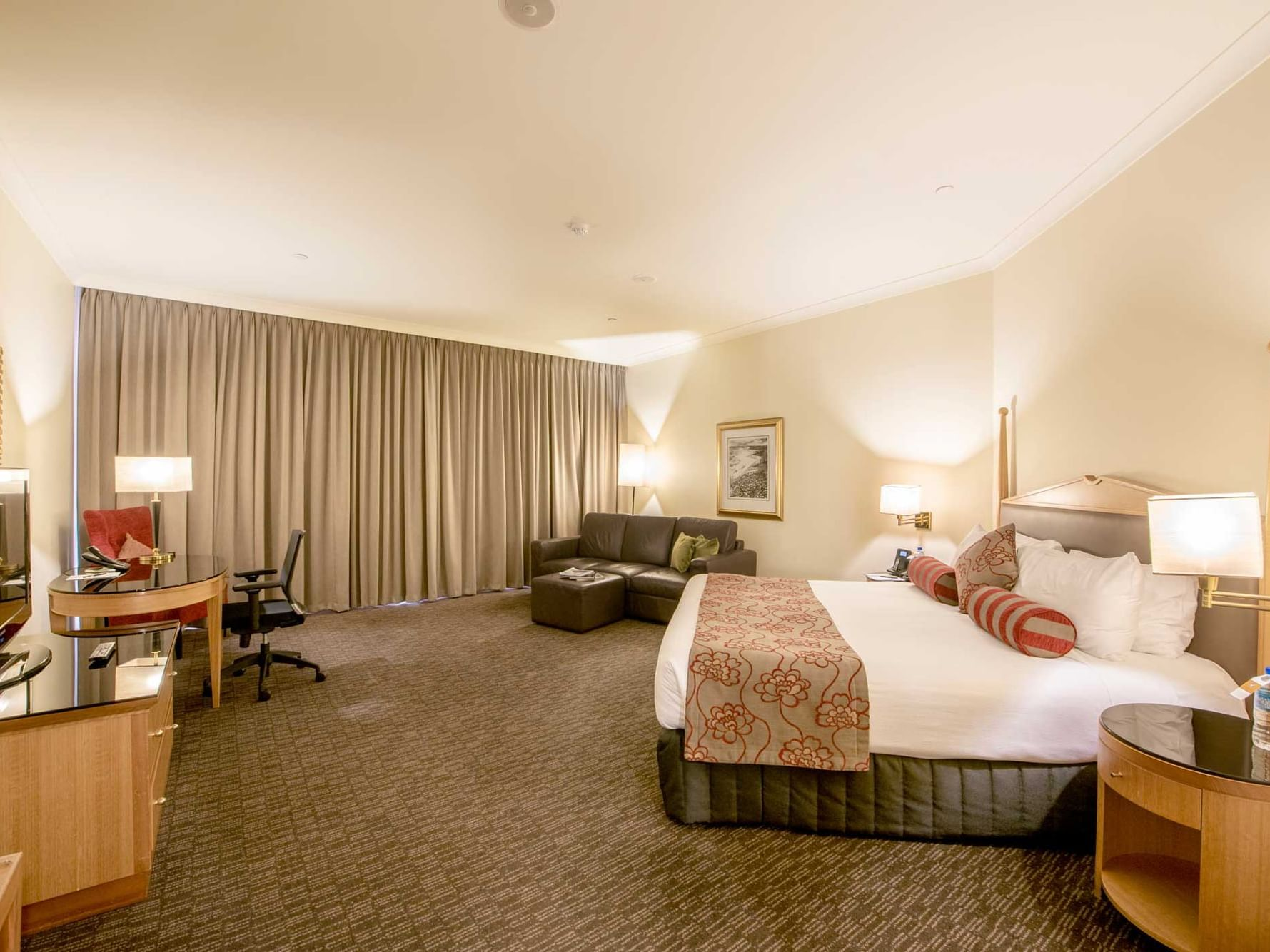 A view of Club King Room in Duxton Hotel Perth