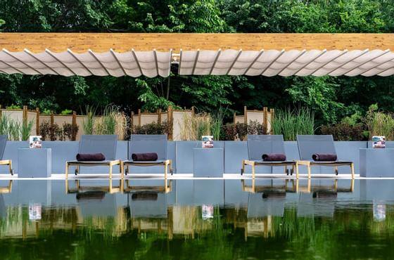 Piscină la Ana Hotels în România