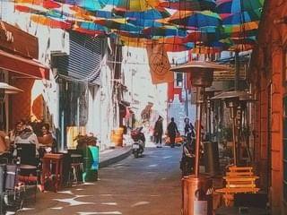 Streets of Galata and Karakoey District near CVK Hotels
