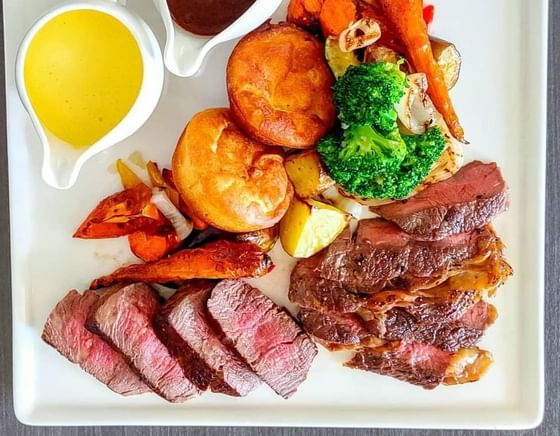 Traditional Sunday Roast in Terrace at The Danna Langkawi