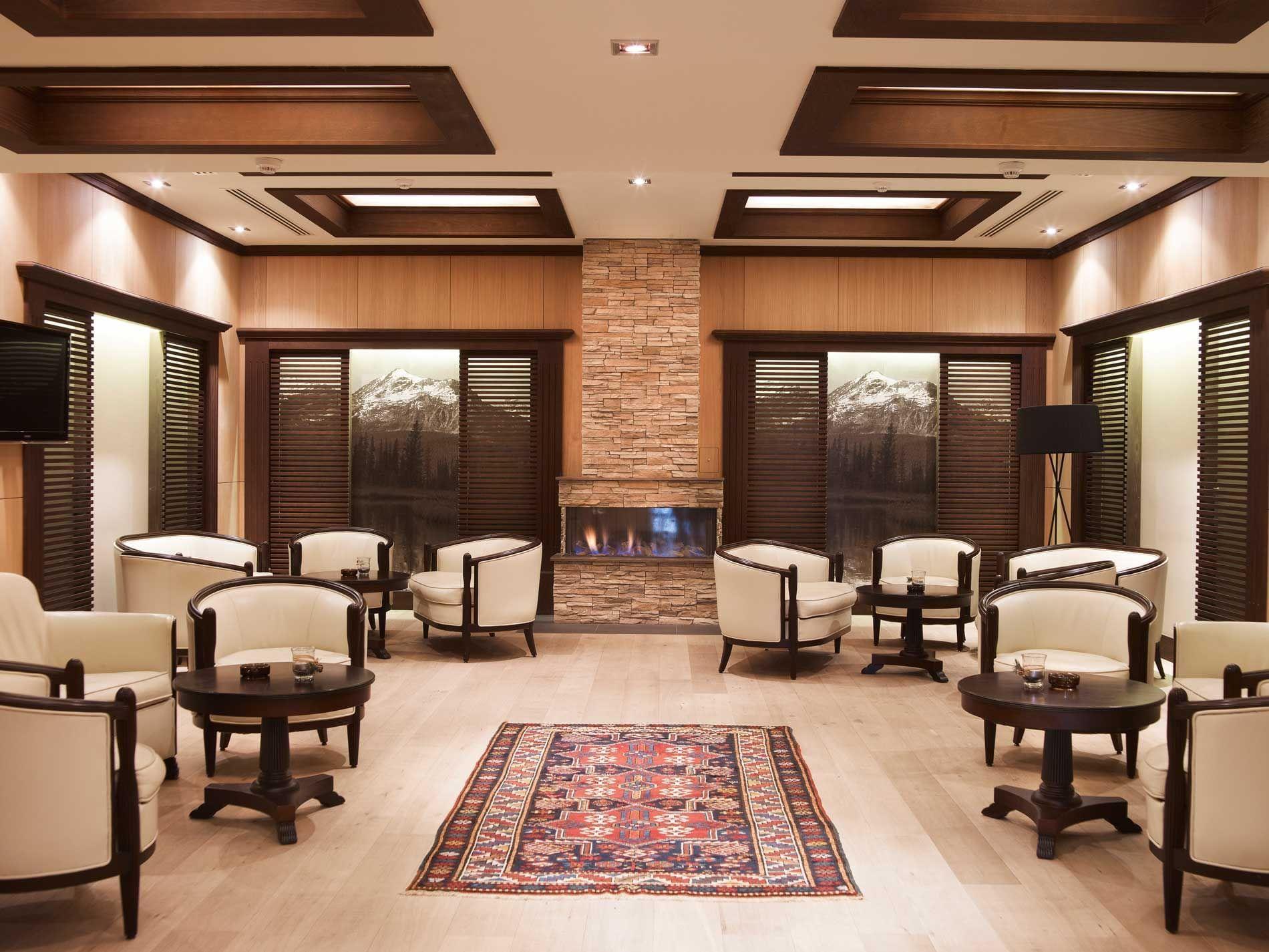 Interior of the Lobby bar at Ana Hotels Sport Poiana Brașov