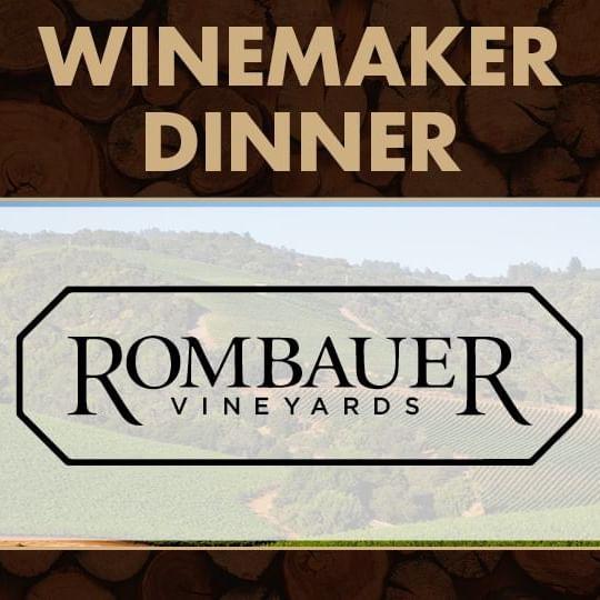 Winemaker Dinner with Rombauer Vineyards Logo