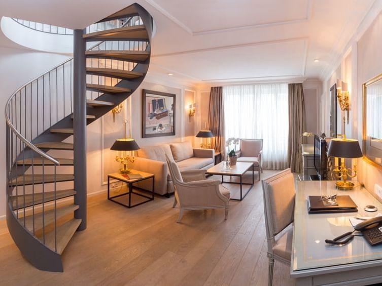 Maisonette Suite im Hotel München Palace