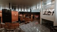 atrium of Coast Nisku Inn and Conference Center with Montanas and Fintess Centre