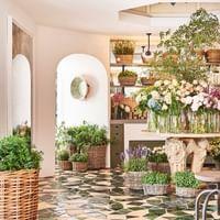 The boutique at El Patio at Marbella Club