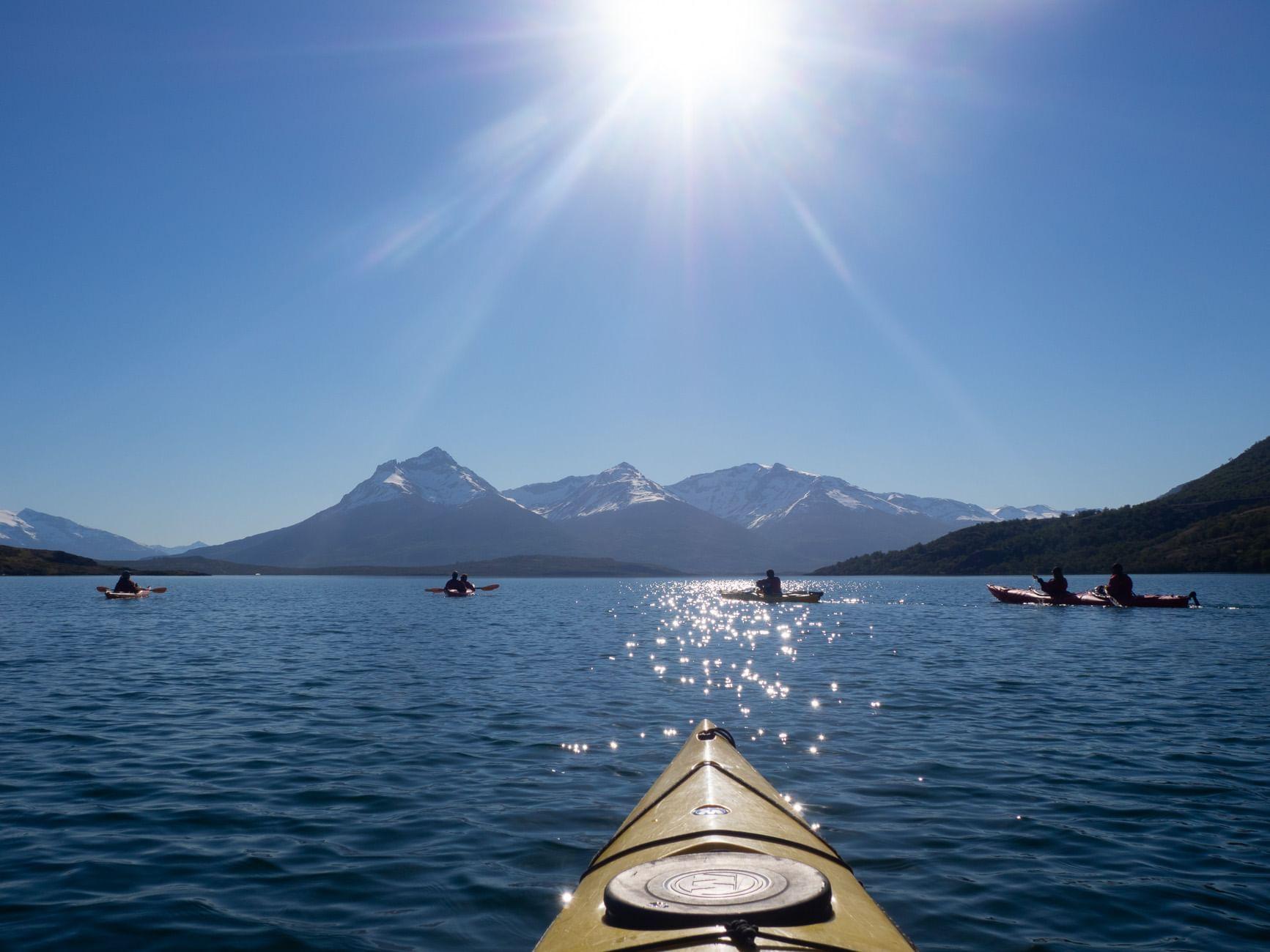 Kayak at Patagonia