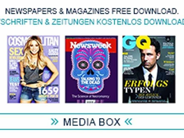 Digitale Zeitschriften und Magazine im Hotel München Palace
