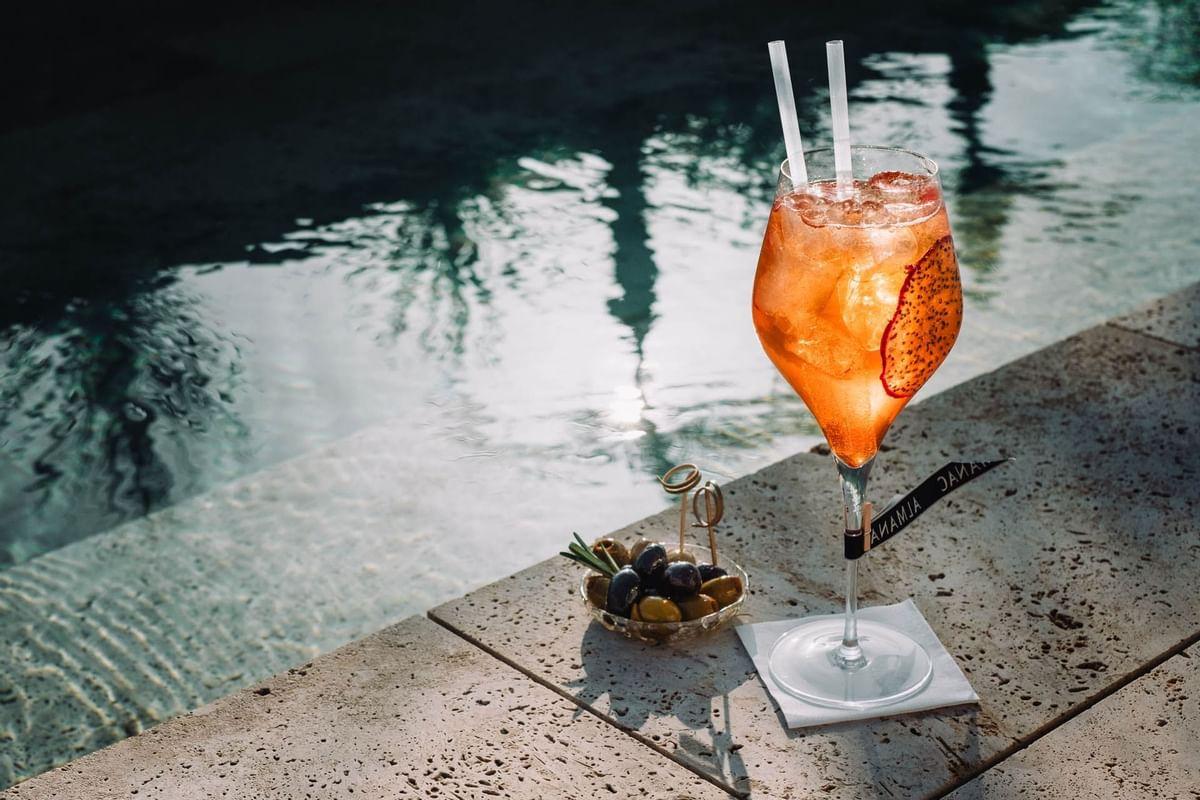 Bebidas para sala de juntas en Almanac Barcelona