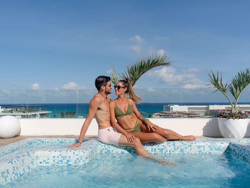 Pool, The Reef 28, Rooftop, Roof 28, Playa del Carmen, Lifestyle