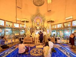 Inside of Kabar Aye Pagoda near Chatrium Hotel Royal Lake Yangon
