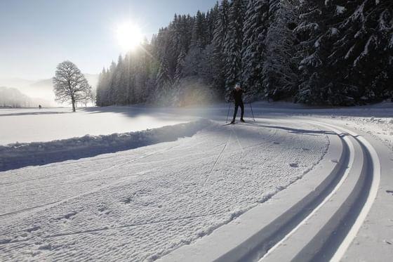 cross-country skiing Ramsau, IMLAUER Hotel