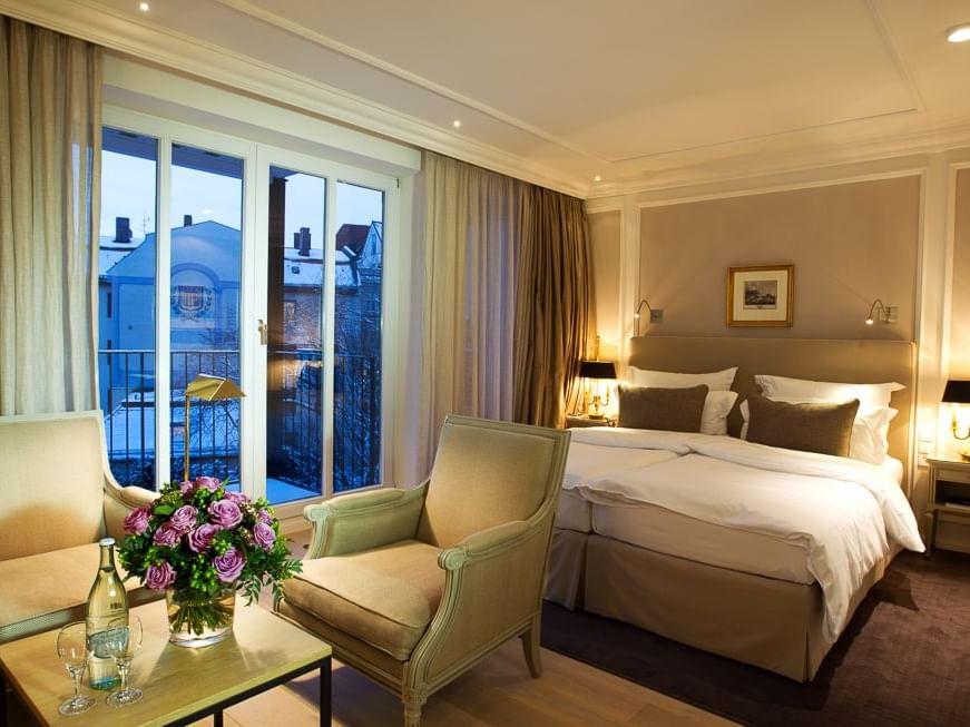 Deluxe Doppelzimmer im Hotel München Palace