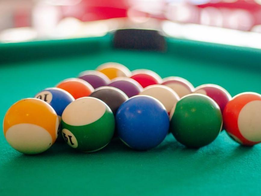 Pool Tables facilities at Hotel Villa Varadero