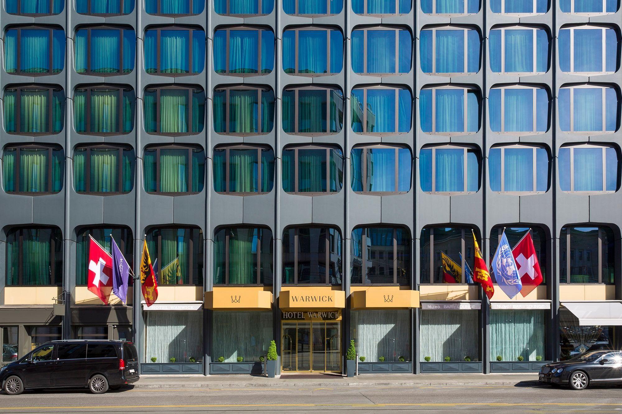 Warwick Geneva Exterior Entrance
