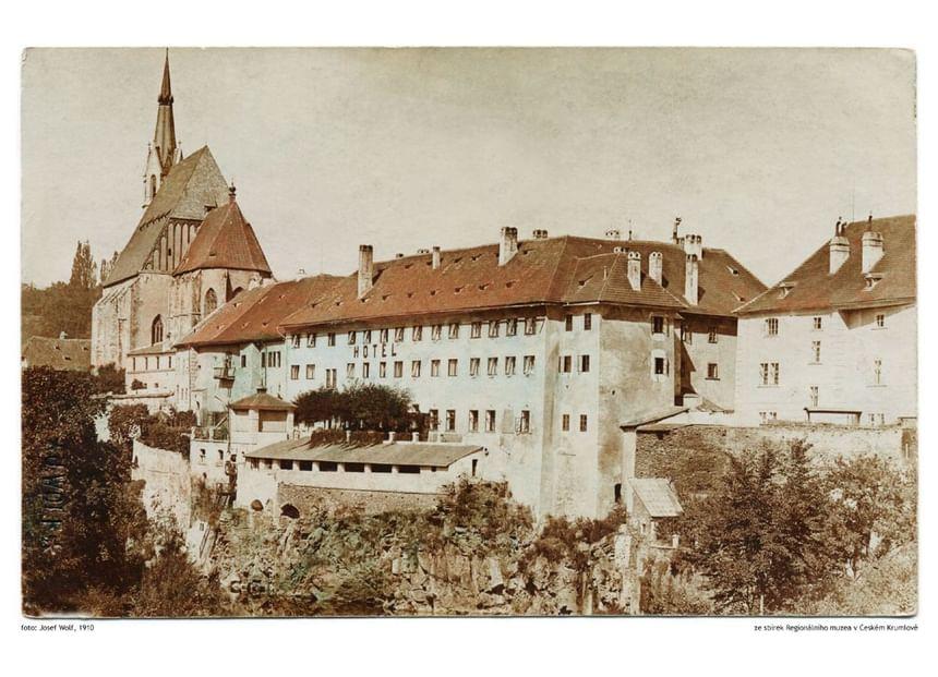 Historic picture of Hotel Ruze, Český Krumlov, Czech Republic