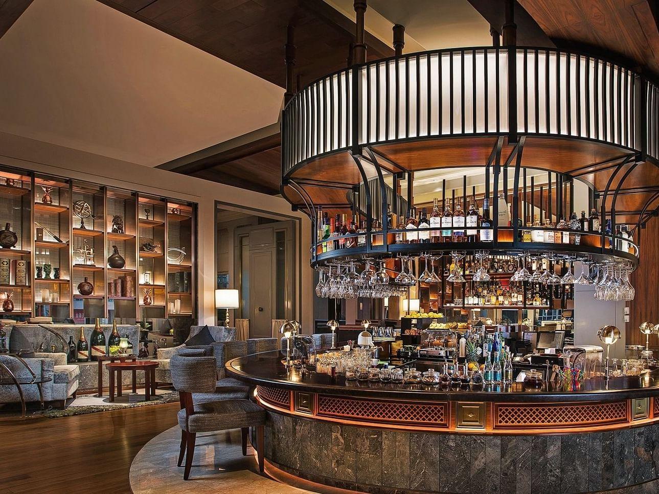 Vasco bar and lounge at Artyzen Grand Lapa Hotel Macau
