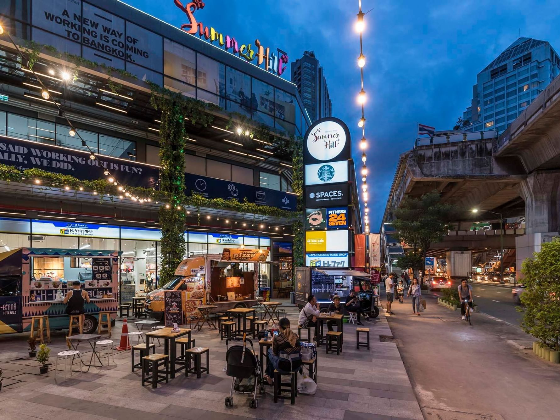 Sukhumvit Area near Chatrium Hotel Riverside Bangkok