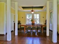 Dining Room in a cottage at Waimea Plantation Cottages
