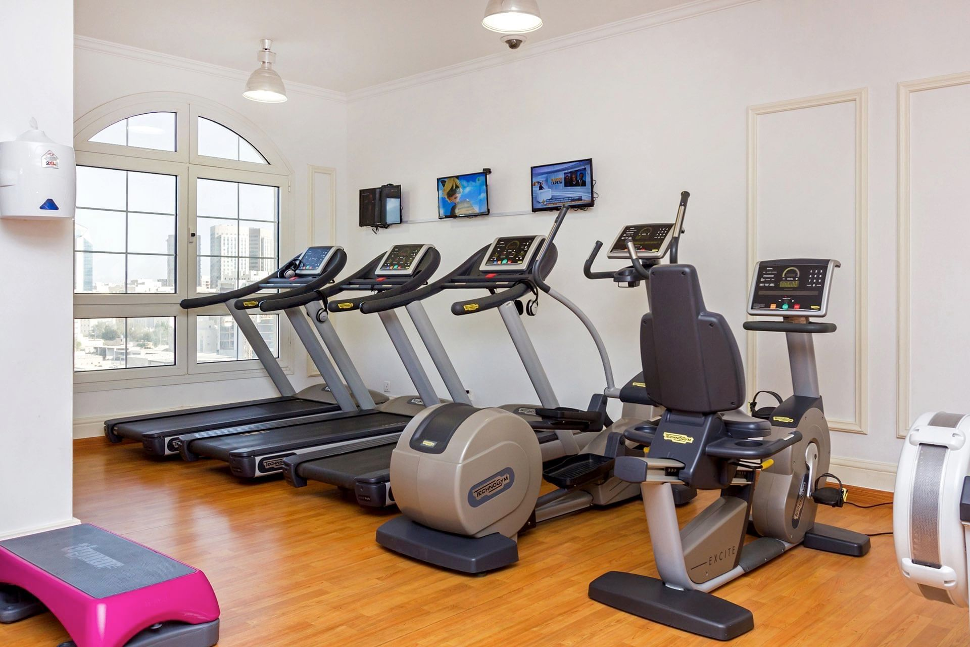 Fitness Machines at Warwick Doha
