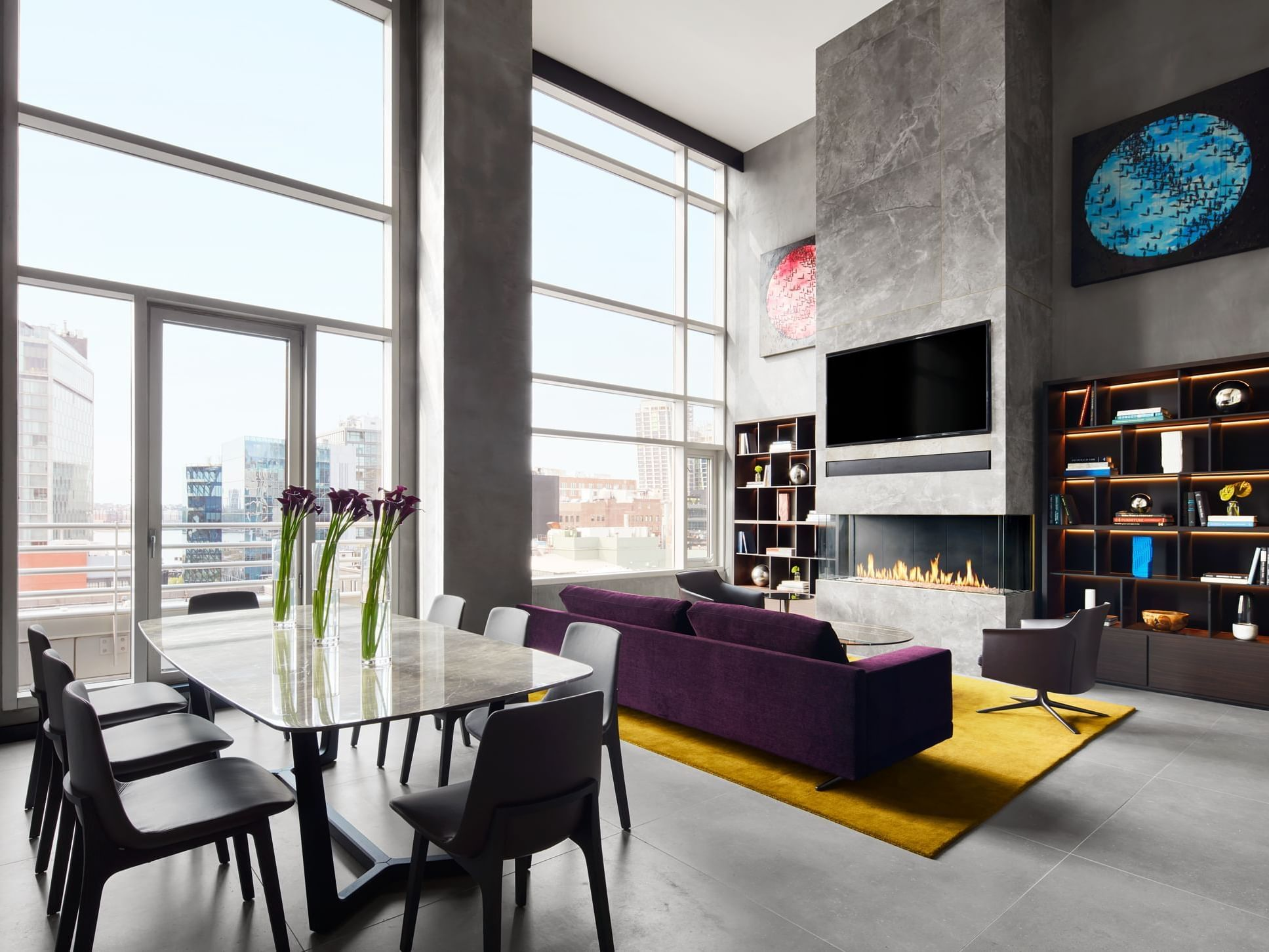 Poliform Penthouse Living Room